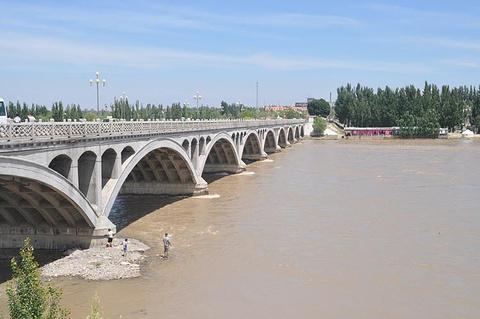 伊犁河旅游风景区旅游景点攻略图