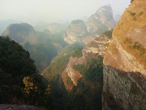桂林丹霞八角寨景区旅游景点攻略图