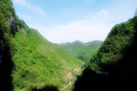 飞水谷旅游景点攻略图