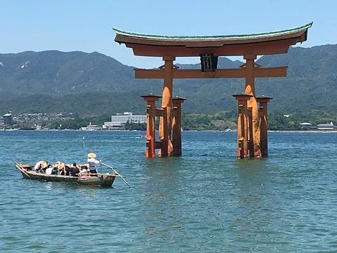 宫岛旅游景点图片