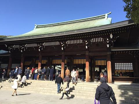 明治神宫旅游景点攻略图