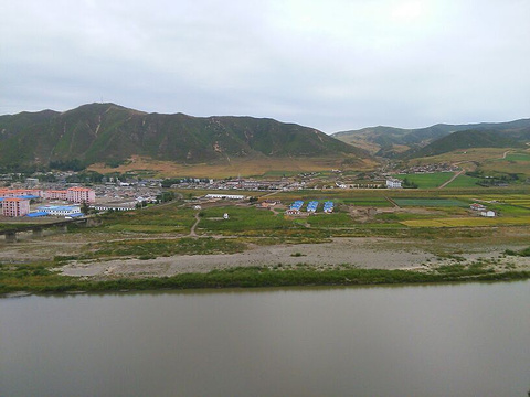图们江国家森林公园旅游景点攻略图