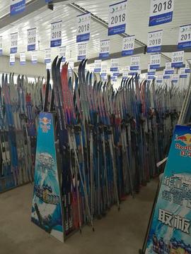 净月潭滑雪场旅游景点攻略图