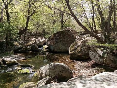 本溪老边沟风景区旅游景点攻略图