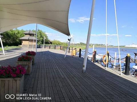 呼兰河口湿地公园旅游景点图片