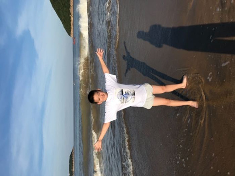 松兰山海滨浴场旅游景点攻略图