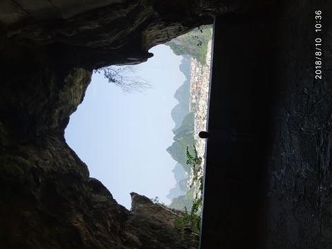 叠彩山旅游景点攻略图