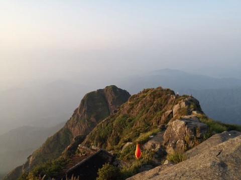 军峰山旅游景点图片