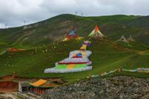 青海湖二郎剑景区旅游景点攻略图