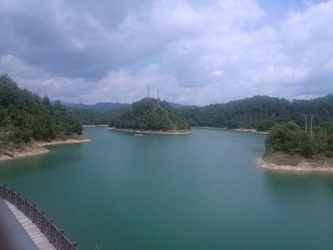 千岛湖中心湖区旅游景点攻略图