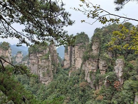 黄石寨索道旅游景点图片