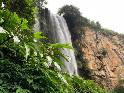马岭河峡谷旅游景点攻略图