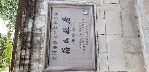 蒋氏故里景区旅游景点攻略图