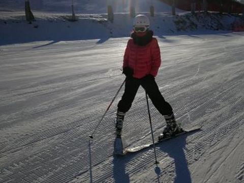 莲花山滑雪场旅游景点图片