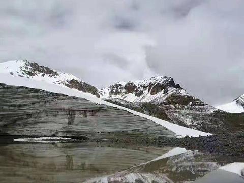 廓琼岗日冰川旅游景点图片