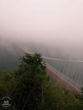 矮寨悬崖栈道旅游景点攻略图
