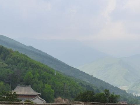 五台山风景名胜区-菩萨顶旅游景点攻略图