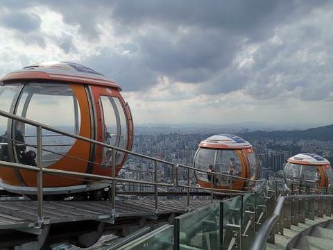 广州塔460米摩天轮旅游景点图片