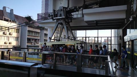 李子坝轻轨站旅游景点攻略图