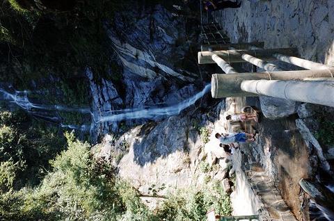 周洛大峡谷旅游景点攻略图