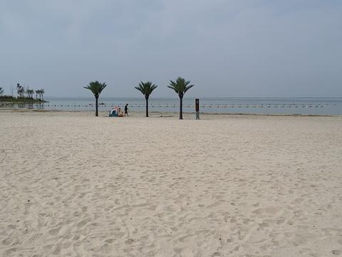骆马湖沙滩公园旅游景点图片