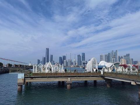 栈桥旅游景点图片
