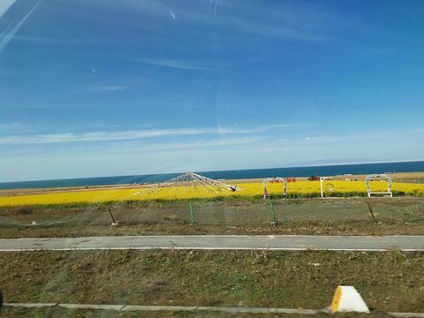 青海湖二郎剑景区旅游景点图片