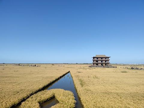 红海滩国家风景廊道旅游景点图片