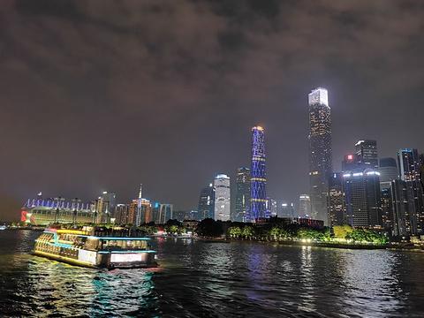 珠江夜游旅游景点攻略图