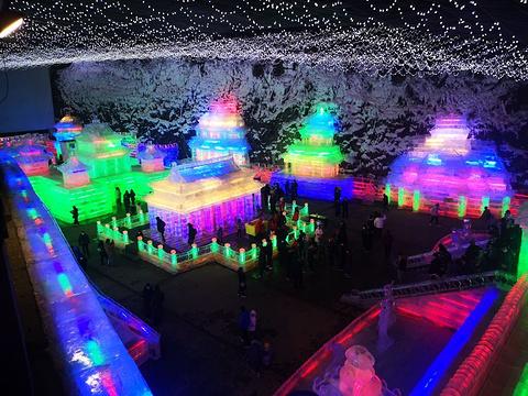 龙庆峡冰灯旅游景点攻略图
