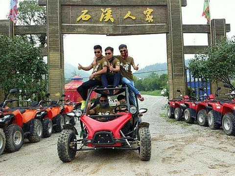萍乡武功山乐骋沙滩车旅游景点图片