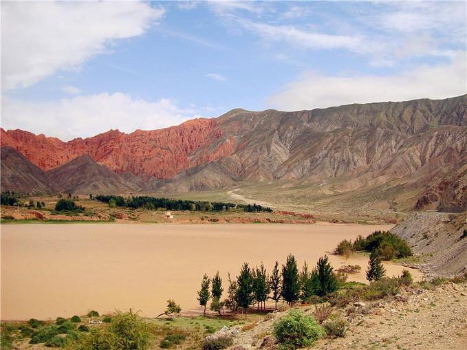 黄河放生点图片