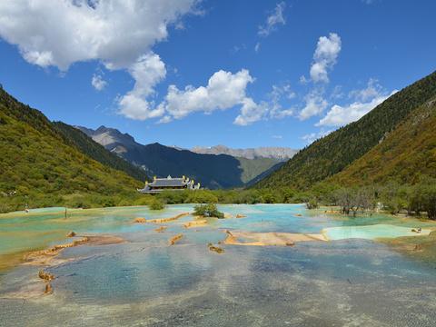 黄龙风景名胜区旅游景点图片