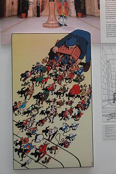 比利时漫画艺术中心旅游景点攻略图