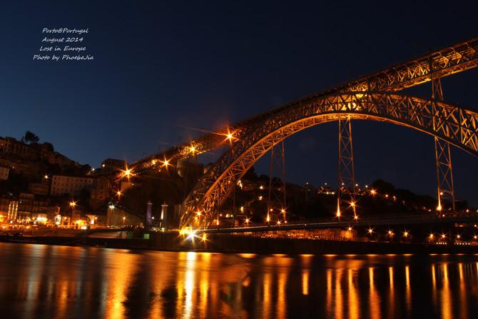 唐路易斯一世大铁桥图片