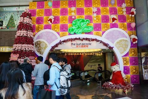 DFS环球免税店(新太阳广场店)旅游景点攻略图