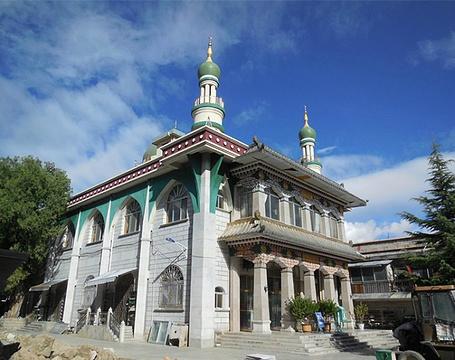 拉萨清真大寺旅游景点攻略图