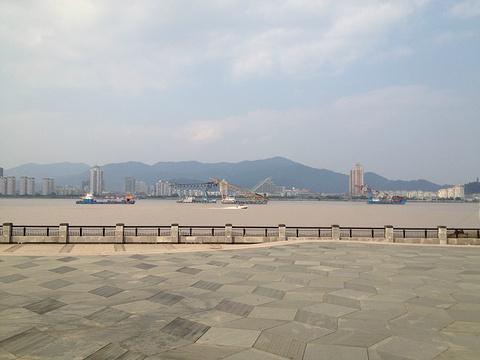 江心屿旅游景点攻略图