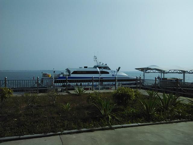 2017五通客运码头, 是厦门来回金门最快速有最