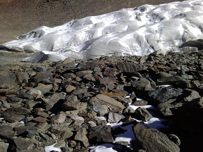 七一冰川图片