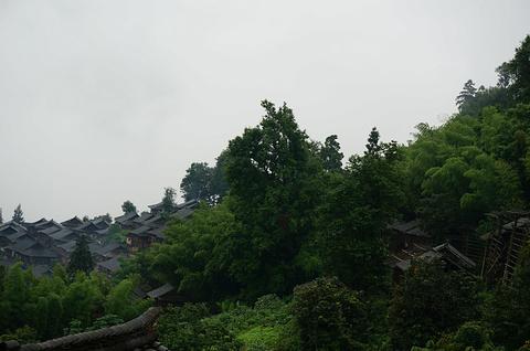 岜沙苗寨旅游景点攻略图