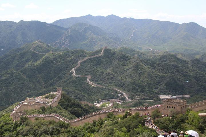 """""""在北京会有很多那种长城一日游的旅行团都不要相信,第一是可能不会带你到八达岭长城而是居庸关长城。很清新_八达岭长城""""的评论图片"""