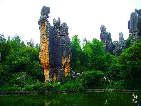 石林旅游景点攻略图