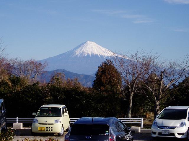 """""""这里曾被票选为最佳观赏富士山的地点_日本平""""的评论图片"""