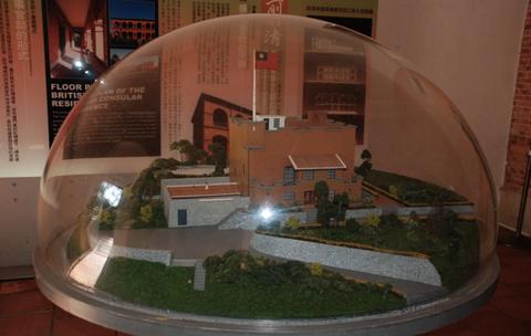 红毛城旅游景点攻略图