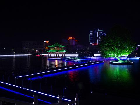 陆羽公园旅游景点图片