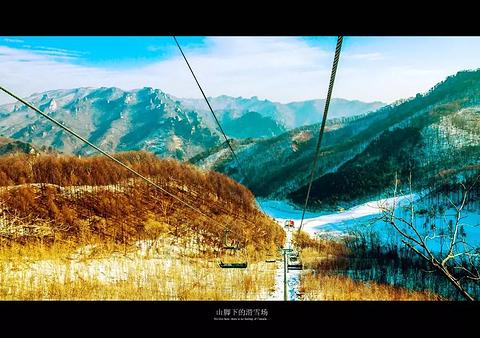 天桥沟滑雪场旅游景点攻略图