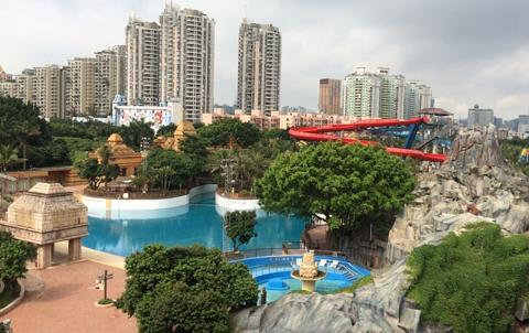 深圳欢乐谷旅游景点攻略图