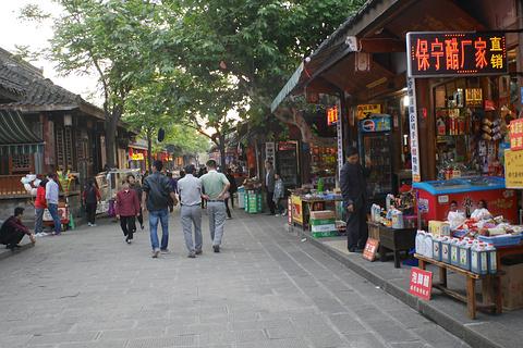 阆中古城旅游景点攻略图
