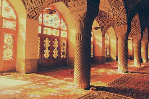 粉红清真寺旅游景点攻略图